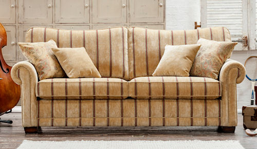 Alstons eton luxury sofa bed buy online at sofabed for Sofa bed 130cm wide