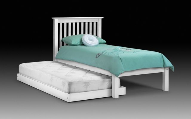 Julian Bowen Barcelona White Hide Away Guest Bed