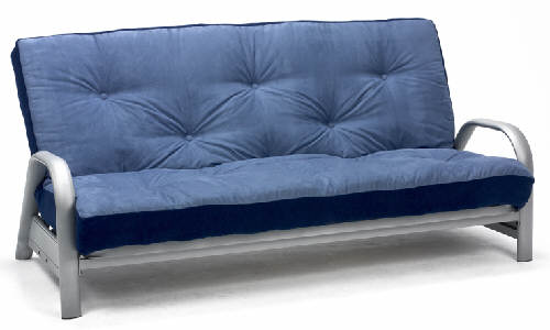 Oslo 3 Seater Metal Futon Sofa Bed