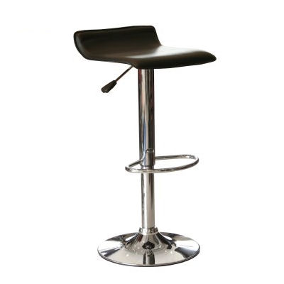 Pipette classic design bar stool. Available in white or black