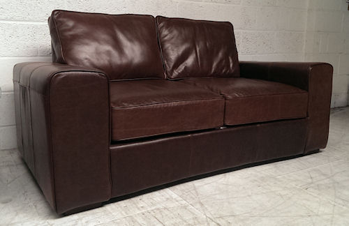 Regent leather sofa bed Shop for leather sofabeds