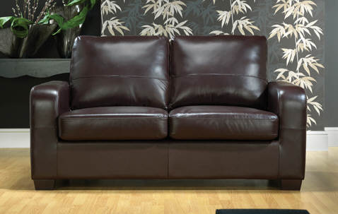 Gainsborough Misty leather sofa bed