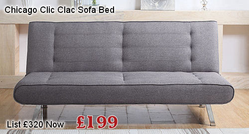 chicago clic clac sofa bed