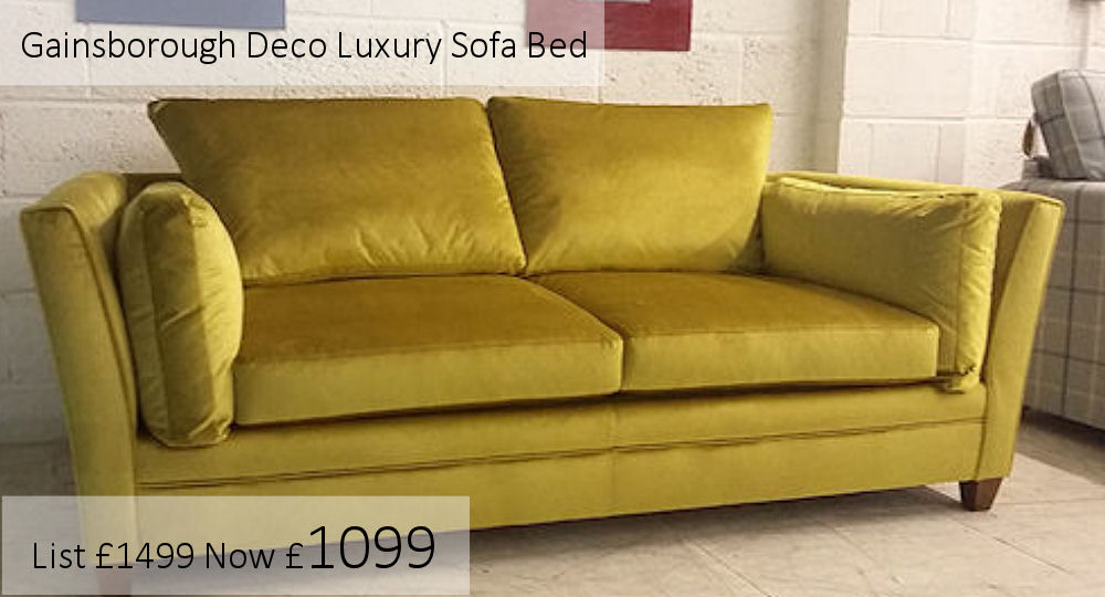 gainsborough art deco sofa bed