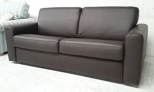 leather sofa bed for sale. 3 Seat Sofabed List £ 1950. Sale Price £1179 Leather Sofa Bed For T