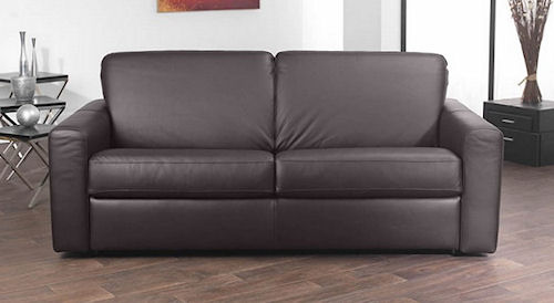 ravel leather sofa bed