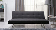 rialto pebble grey sofa bed
