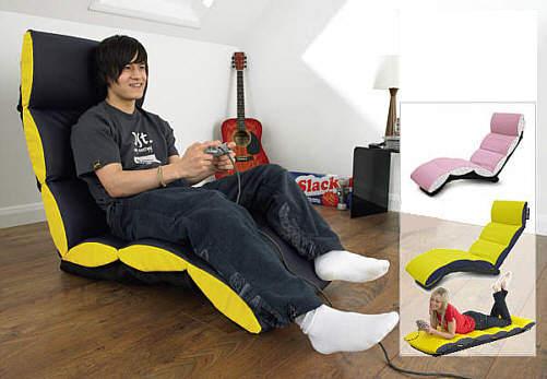 Plain Lazy Crash Pad Gaming Chair