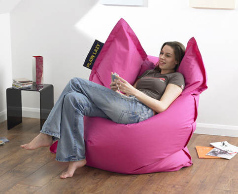 Plain Lazy Bean Bag Giant Beanbags To Buy Online Uk