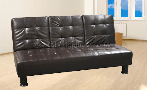 Bronx clic clac faux leather sofa bed : Newyork from www.sofabedgallery.co.uk size 500 x 307 jpeg 39kB