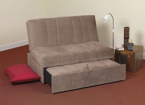 Siesta compact small sofa bed for Compact sleeper sofa